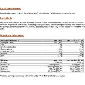 PowerBar Isoactive - Nutrition sport - Orange 600g